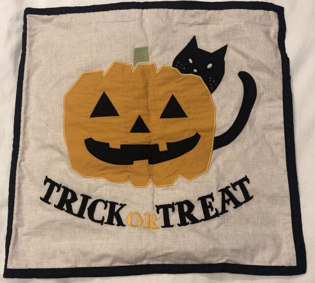 New Pottery Barn Kids Halloween Trick Or Treat Pillow Sham