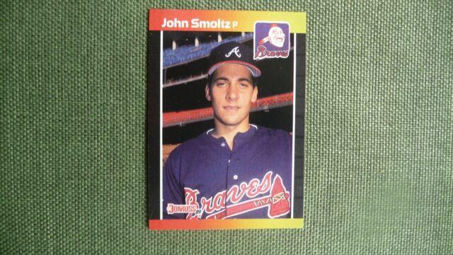 1989 Donruss John Smoltz 642 Baseball Card