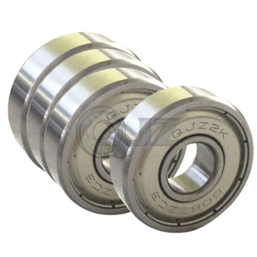 4x 608-zz ABEC-7 8mm x 22mm x 7mm 3D Printer Prusa Mendel RepRap Ball Bearing