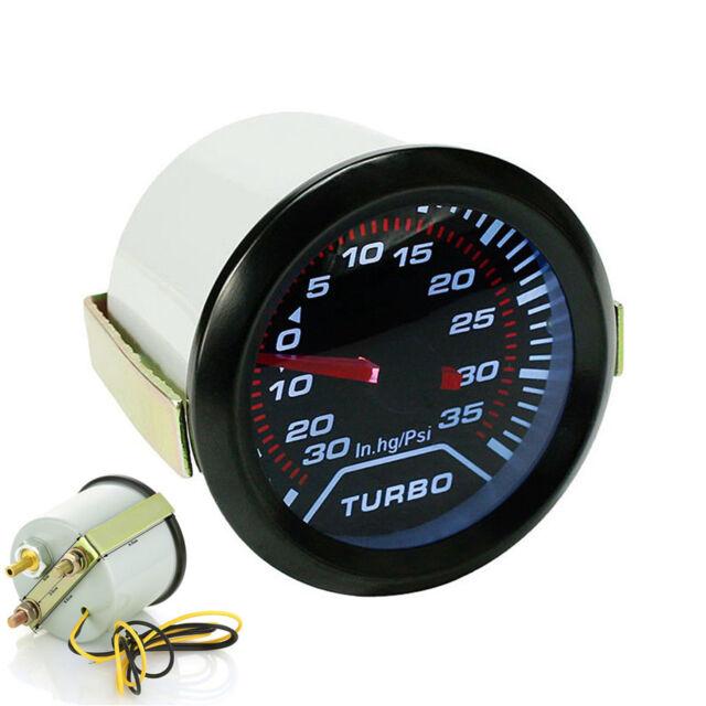 Hg//35 psi # 30-4406 AEM 52MM Digital 35psi Electronic Turbo Boost Gauge 30 in