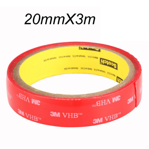3M VHB High strength Double-sided Clear Transparent Acrylic Adhesive Tape