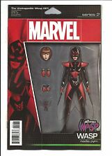 UNSTOPPABLE WASP # 1 (Marvel Now! ACTION FIGURE VARIANT, MAR 2017), NM NEW