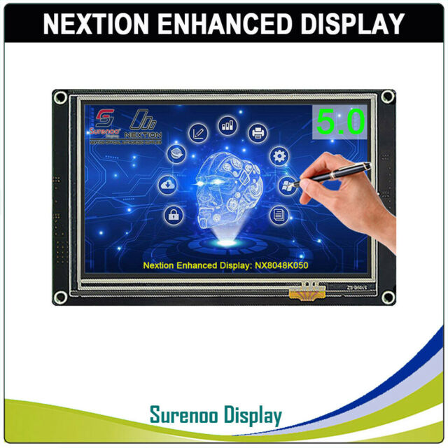 "5.0"" Nextion Enhanced NX8048K050 HMI TFT Touch LCD Display Module Screen Panel"