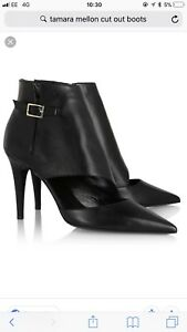 0ff4cba8c3c Image is loading Tamara-Mellon-Madness-Cut-Out-Boots-Size
