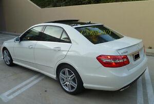 Upainted Mercedes Benz W212 Sedan OE Rear Roof AMG Style Trunk Spoiler 10-13