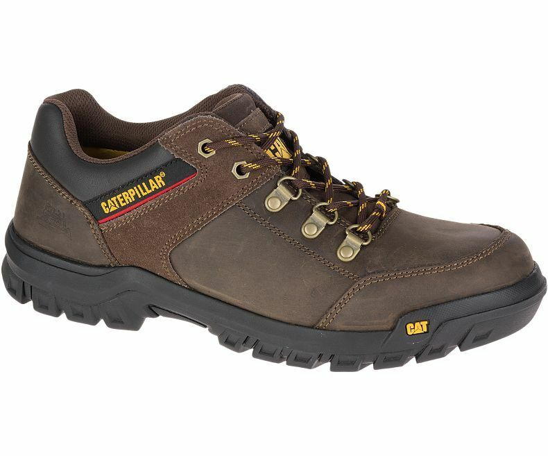 Men Caterpillar Extension Oxford Work schuhe P74126 braun Leather 100% Original