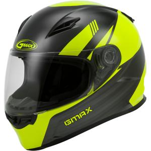 GMAX FF-49 Deflect Full Face Motorcycle Street Helmet