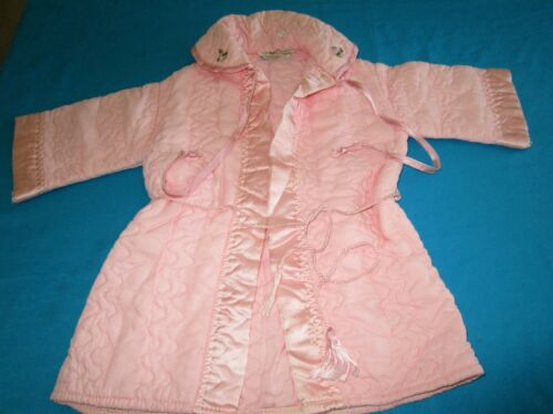 Antique  quilted baby morning coat  -Made by Hudso