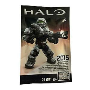 Mega Bloks Halo Exclusive Silver Warrior Figure 2015, Mega Construx. Les Clients D'Abord