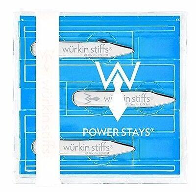 Würkin Wurkin Stiffs Power Stays New 3 Pairs Collar Stays 2.5-inch