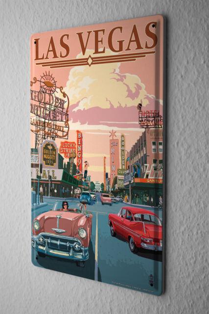 Tin Sign Travel Kitchen Las Vegas