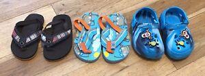 Boys-Summer-Shoe-Bundle-Size-5-6-Infants-Next-Disney-lt-D5828