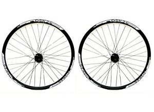 26-034-WHITE-DECALS-QR-DISC-BRAKE-MTB-WHEELS-8-9-10-SPEED-CASS-DOUBLE-WALL-RIMS