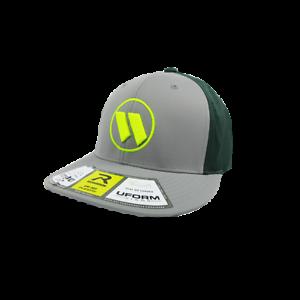 PTS30 Worth Hat by Richardson Grey//Dark Green//Grey//Volt//Volt SM//MD