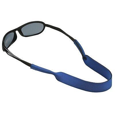 BLUE NEOPRENE NECK STRAP/Cord/Chain/Lanyard/String for Sunglasses/Eyeglasses