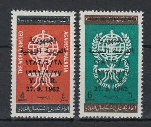 1963 Yémen A.r. */mlh Mi.330/31 Freimarken Définitif Paludisme Medicine [st4387] Remise En Ligne