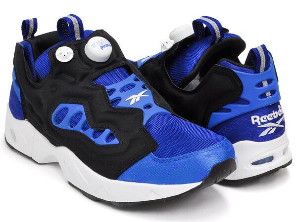 Reebok Uomo Classic INSTAPUMP FURY ROAD Shoe Royal Blue New SIZES 6-13