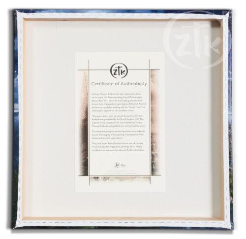 Zac Kinkade Noahs Ark 14 x 14 Gallery Wrapped Canvas