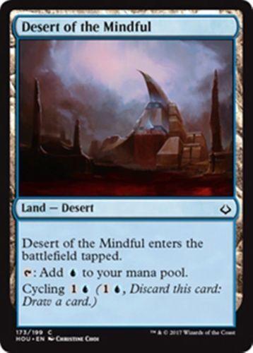 M-NM SPARROW MAGIC Hour of Devastation 4x Desert of the Mindful mtg