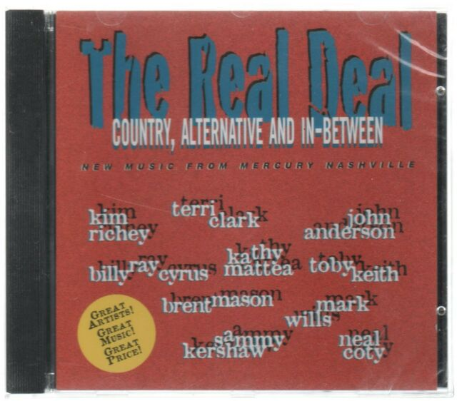 The Real Deal--(CD )--Country Alternative and in-Between