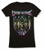 Escape The Fate Crown Band Photo Girls Juniors Black Shirt Official