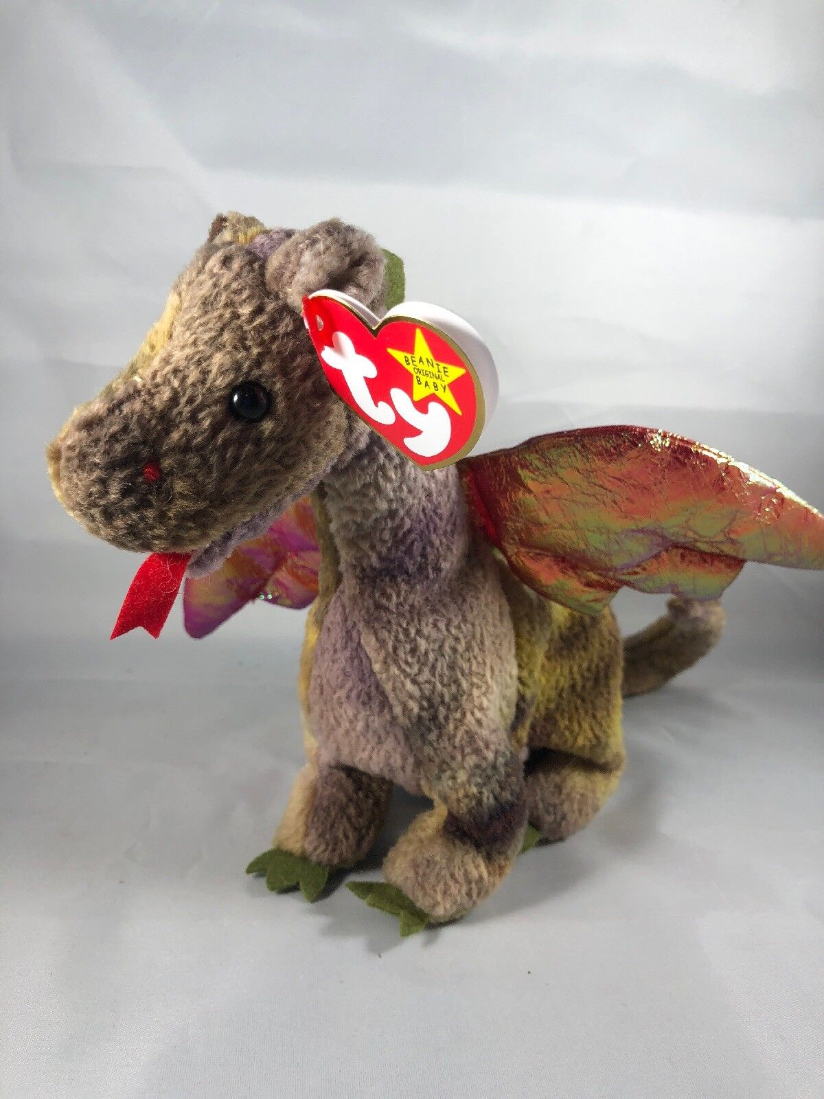 TY SCORCH the DRAGON BEANIE BABY - MINT with TAG