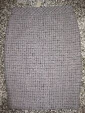 NWT J Crew Taupe Glitter Tweed No. 2 Pencil Skirt Womens 0 New  $138