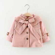 316387832601 Baby Girl Pea Coat Newborn Winter Jacket Infant Pulla Bulla 9-12 ...
