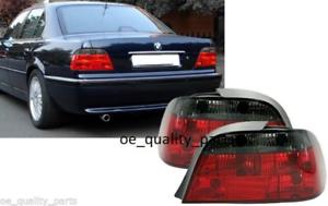 BMW 7 SERIE E38 FEU ARRIERE GAUCHE DROIT FEUX LAMPES LUMINAIRES SET FUMÉ TUNING