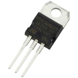 STM STPSC8H065CT SiC-Diode 2x8A 650V Silicon Carbide Schottky TO-220AB 856073