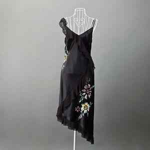 event-dress-PEARCE-II-FIONDA-size-14-sequins-embellishment-asymmetric-hem