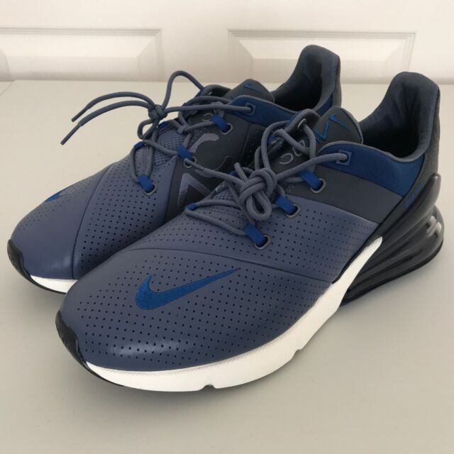 Men's Nike Air Max 270 Premium Running Shoes Diffused Blue Ao8283 400 Size 8