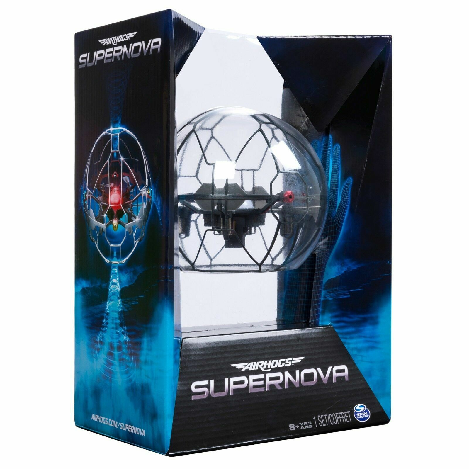 Air Hogs - Supernova Gravity Defying Hand-Controlled Flying Orb
