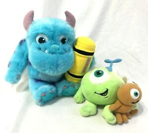 Disney Store Monsters Inc Baby Mike Sulley Little Mikey Stuffed