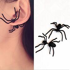 Revolting Spider Earring,Black,Horrid,Scary,Halloween,Fancy Dress,Creepy,Crawly