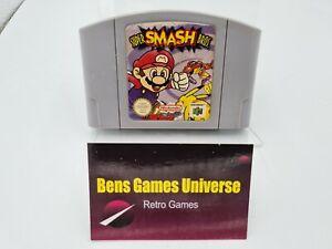 Nintendo 64 n64 juego Super Smash Bros. módulo EUR