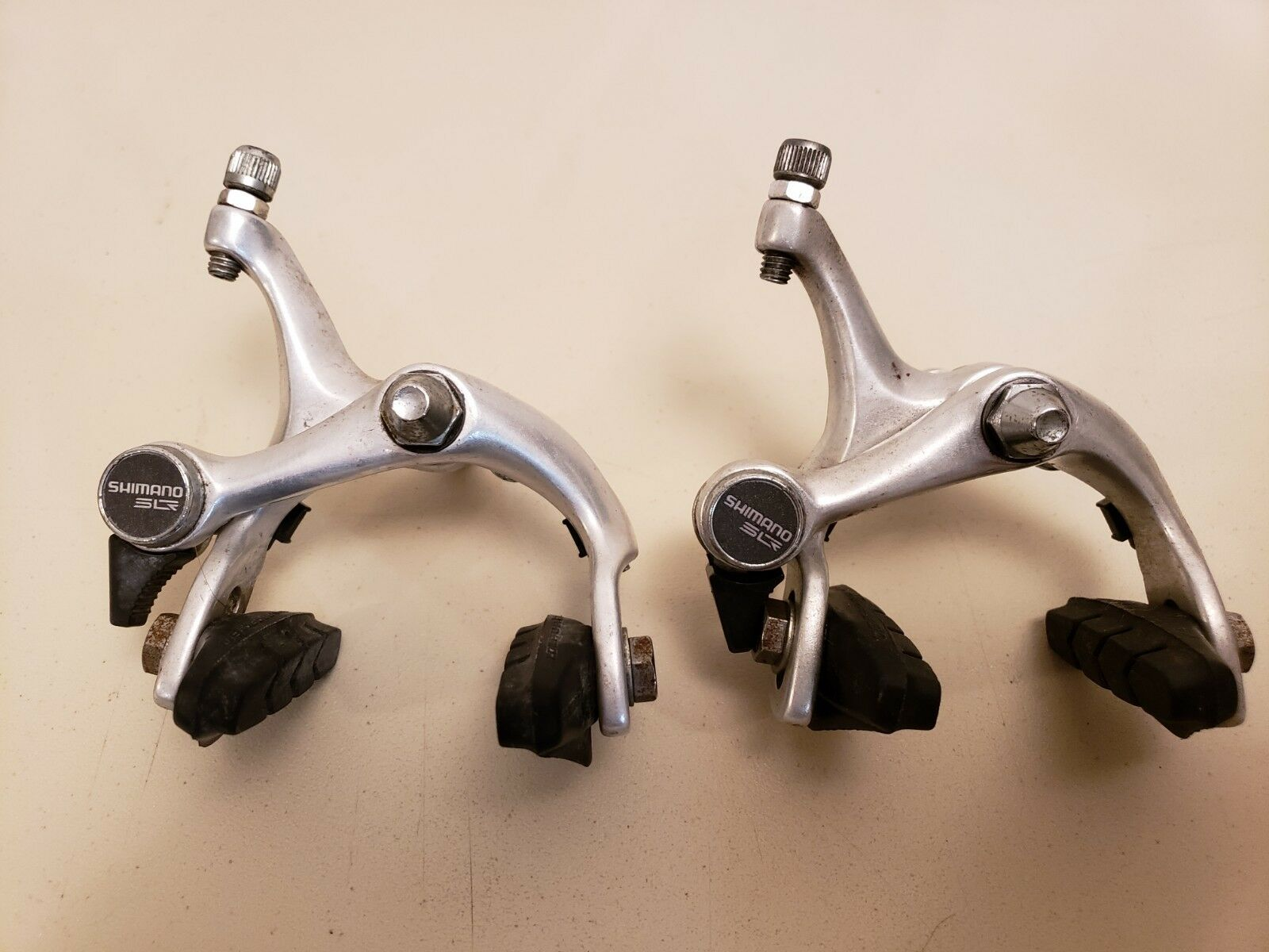 Vintage Shimano SLR Bicycle Brakes...BR-L490..Japan...Road Bike..39mm to 49mm