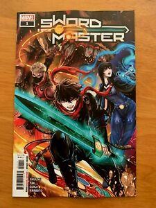 SWORD-MASTER-1-Gunji-Main-Cover-A-1st-Print-Marvel-2019-NM