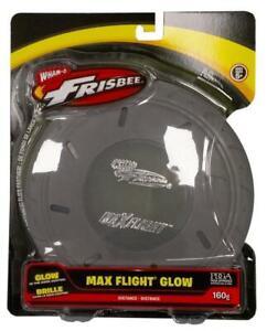 Wham-O Frisbee Max Flight Glow Wurfring Wurfscheibe versch. Farben 130g