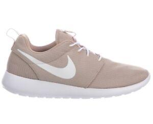 ac428b1e950b Nike Roshe One Mens 511881-204 Sand White Mesh Textile Running Shoes ...