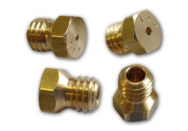Gasdüsensatz AMICA  mit 4 verschiedenen Größen