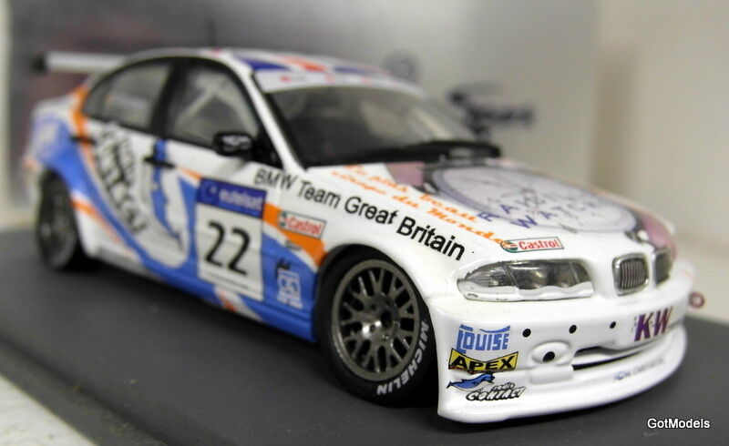 Spark 1 43 Scale - S0407 BMW 320 P.Y P.Y P.Y Corthals ETCC 2002 Resin model car b710f9