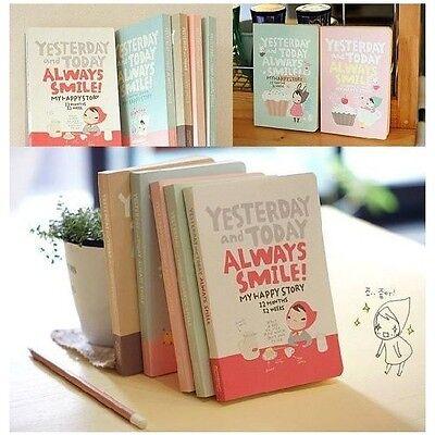 """Always Smile"" 1pc Planner Agenda Scheduler Cute Diary Study Pocket Notebook"