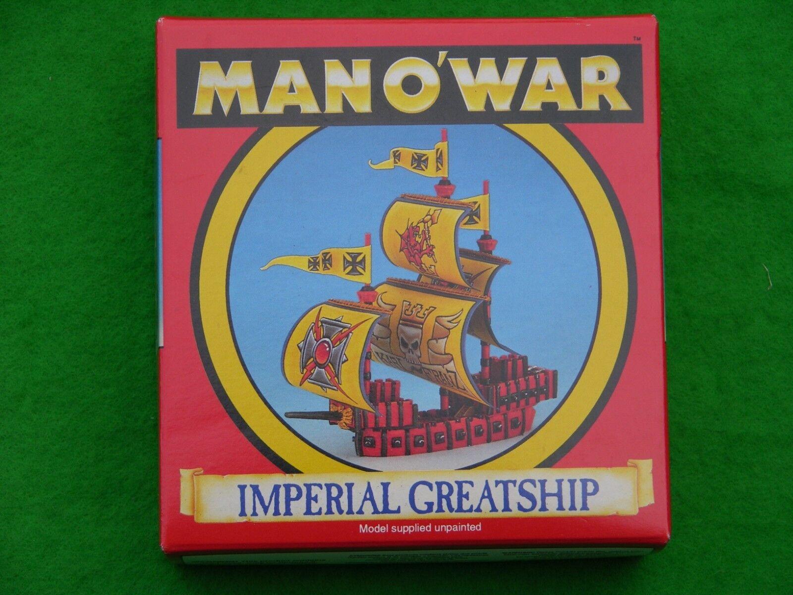 Spiel Workshop Mann O Krieg, Reich Imperial Flotte Multi-Listing