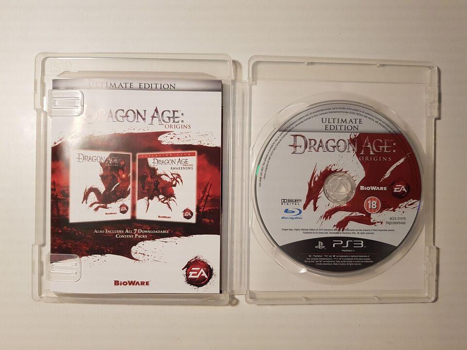 Dragon Age Origins + Dragon Age Origins, Awakening, PS3