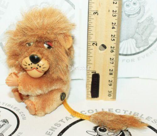 DAKIN CLIP-ON HUGGER PLUSH LION CLASP TOY PLUSH 3 VINTAGE 1970/80s FIGURE NEW