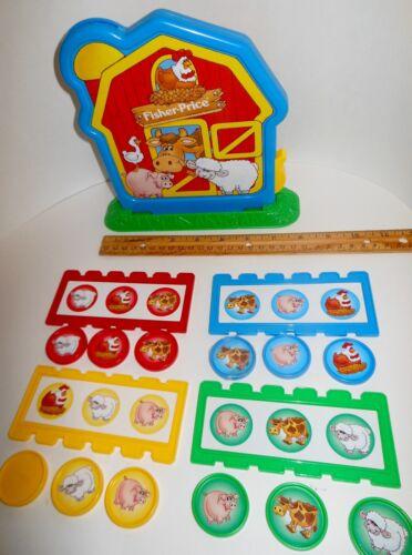 Fisher Price Barnyard Bingo Game Replacement Parts ~ U Pick