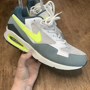 Nike-Air-Max-ST-Running-Shoes-Sneakers-White-Volt-652976-102-Men-039-s-Size-11