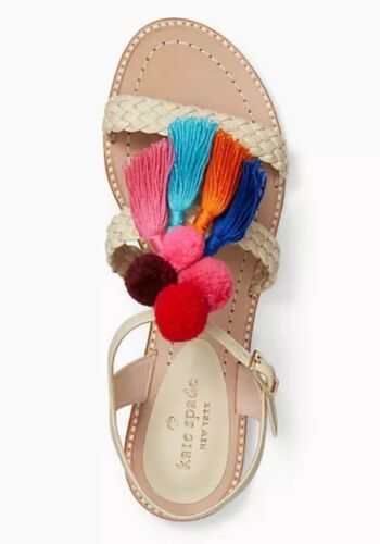 Spade Plume Kate Napa Sandals Sunset 7 Sand 5m Chaussure Woven Glands 5jqAc3S4RL