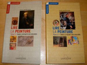 Lire la peinture tomes 1 et 2 de Nadeije Laneyrie-Dagen